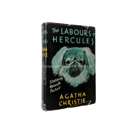 The Labours of Hercules by Agatha Christie First Edition Second Impression The Crime Club by Collins